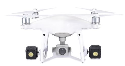 Drone Mounts for DJI Phantom 4 White Lume Cube